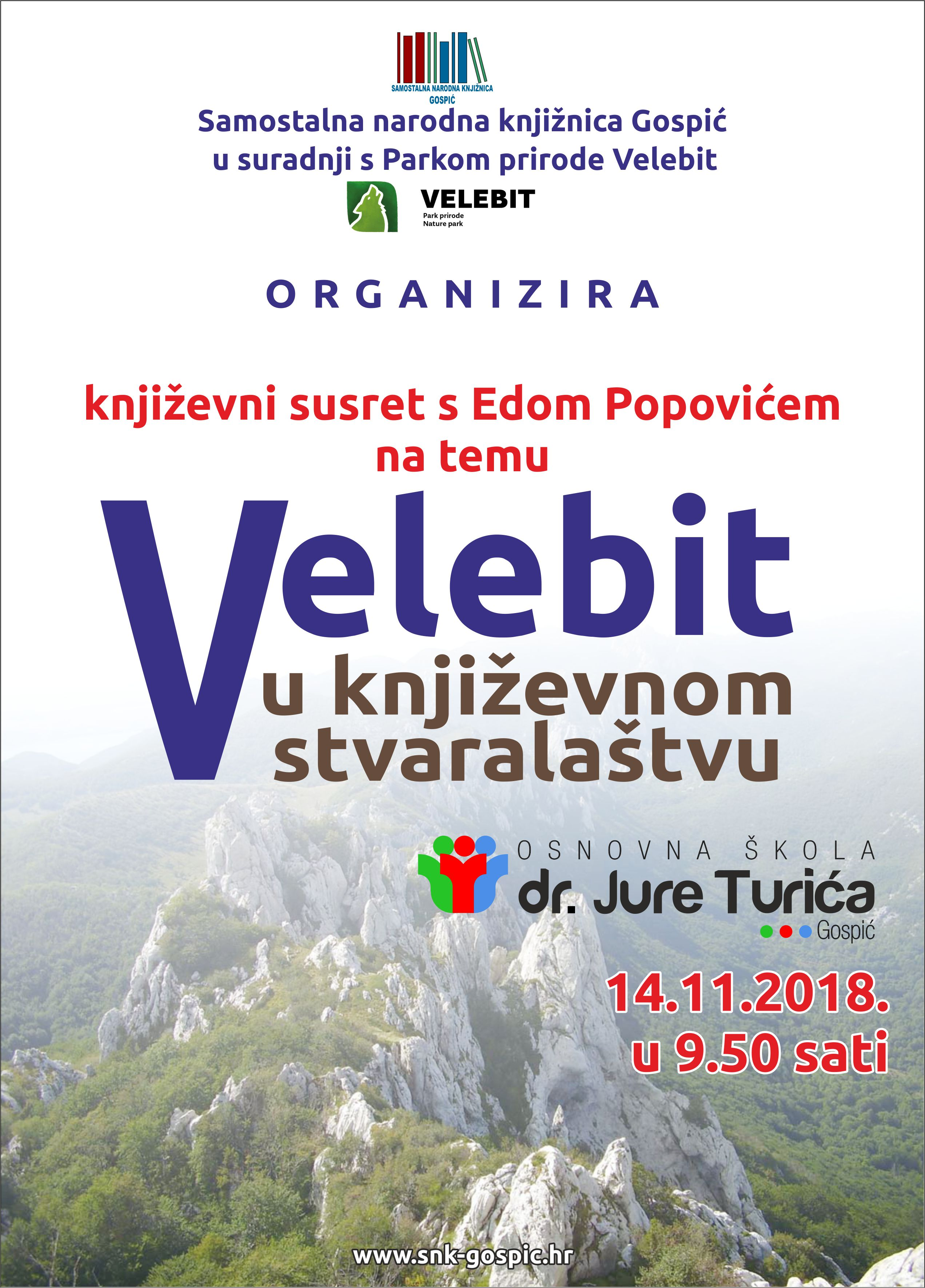 Književni susret s Edom Popovićem