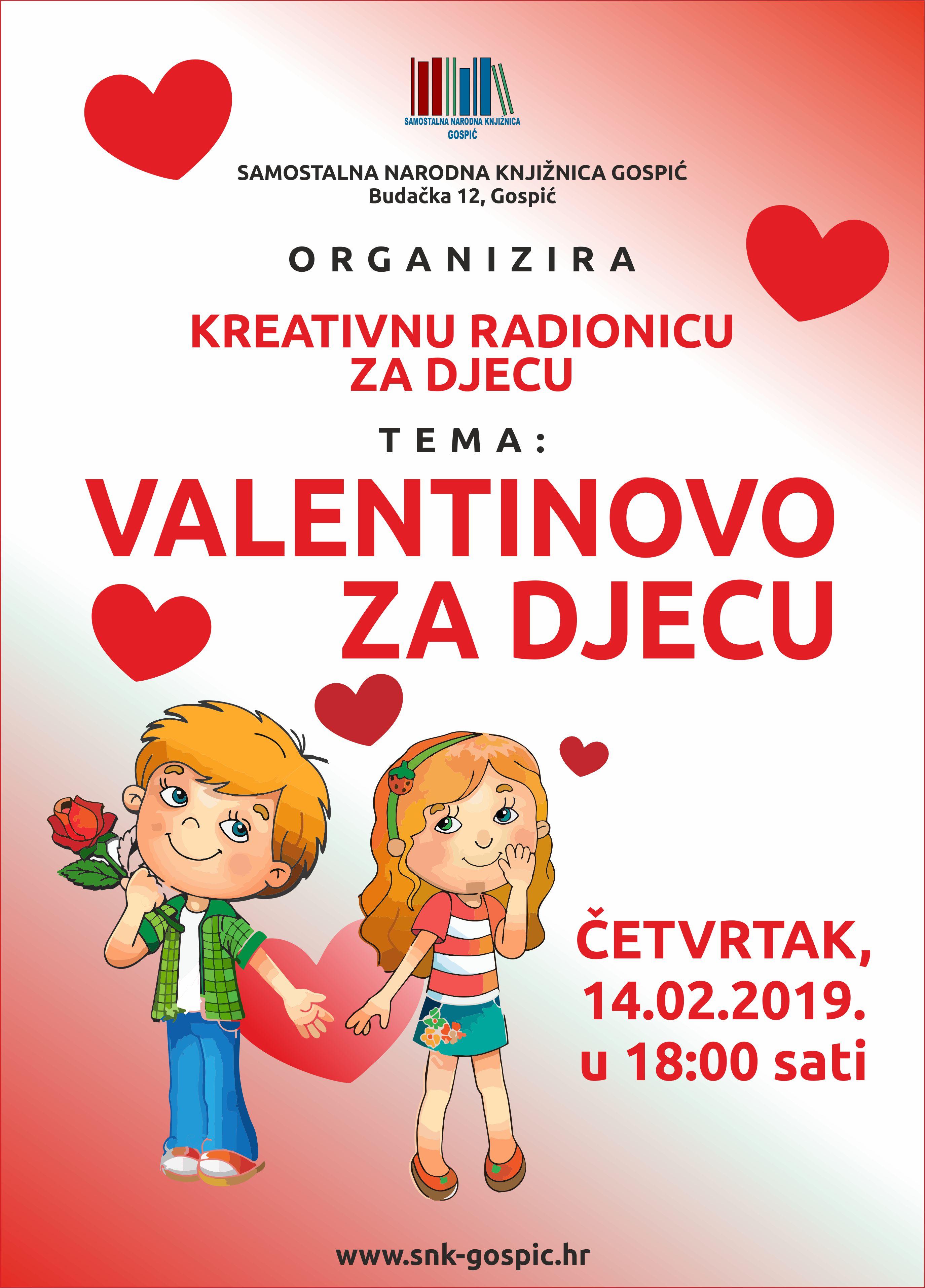 Valentinovo za djecu