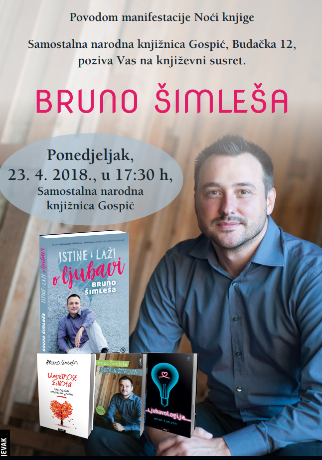 BRUNO ŠIMLEŠA – Noći knjige
