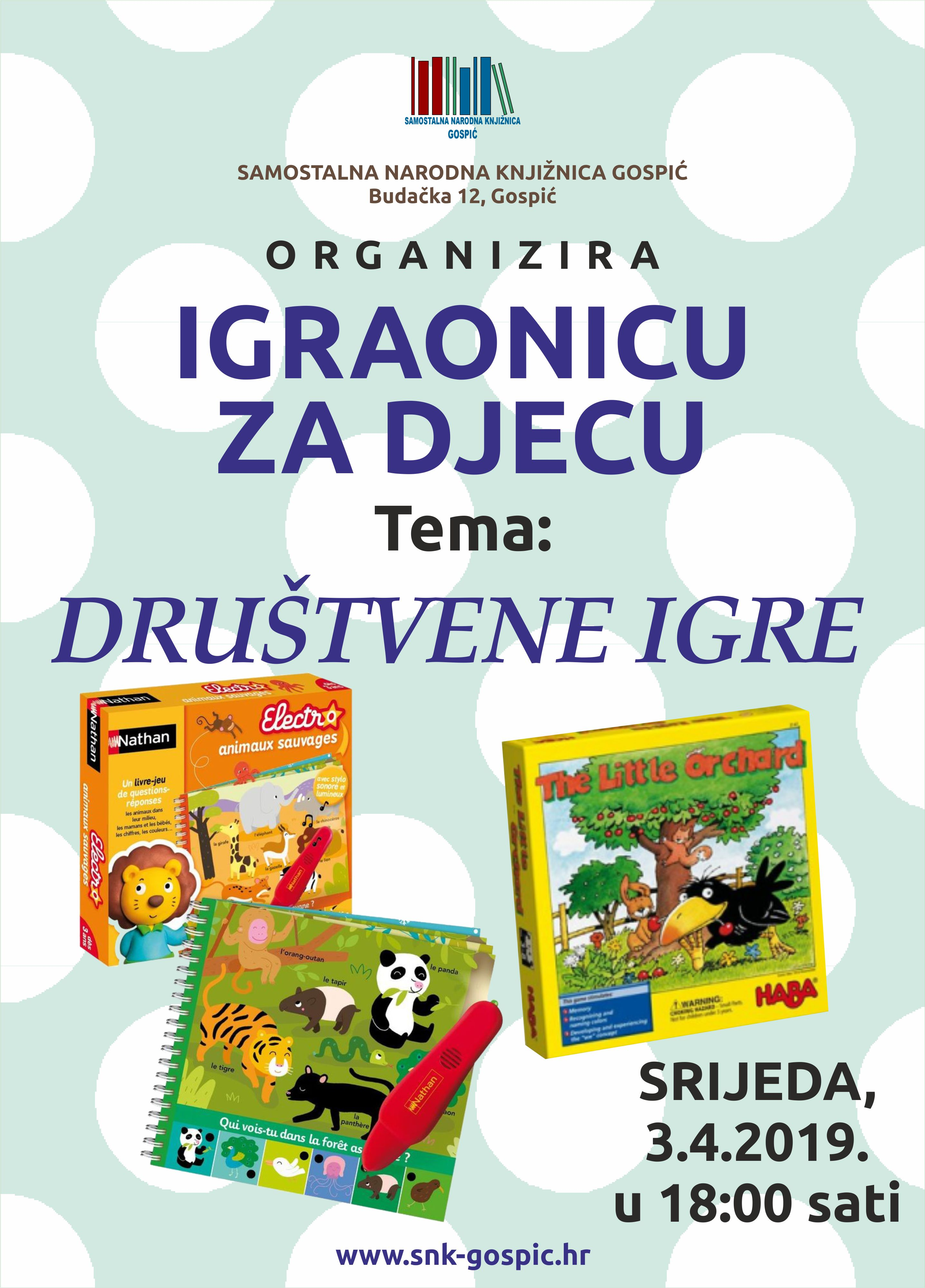 DRUŠTVENE IGRE – 03.04.2019.